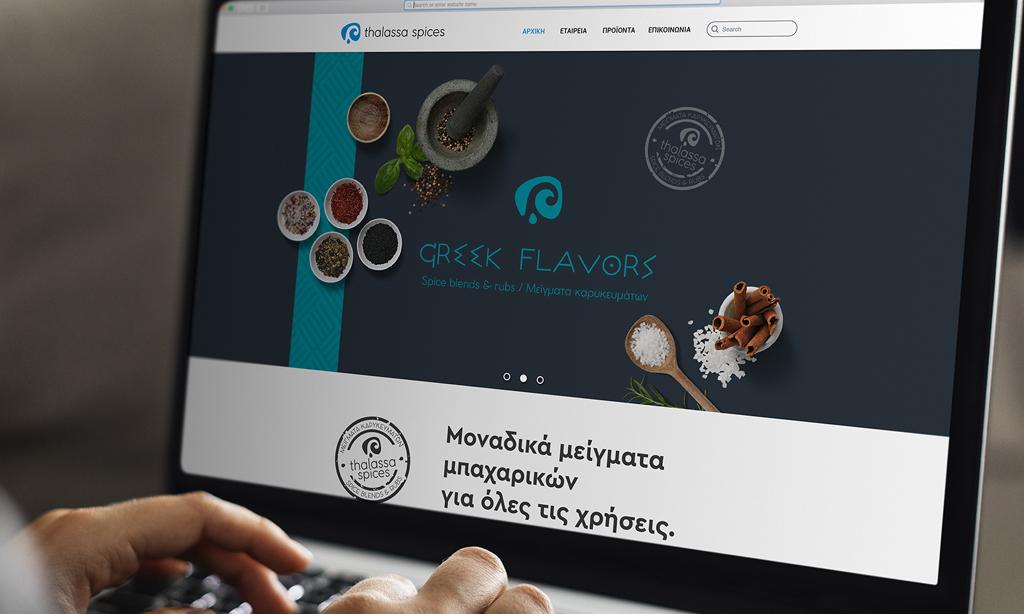thalassa spices website